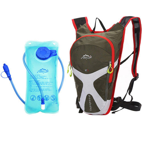Costbuys  Bike Bag 5L Mini Cycling Backpack Hold Water MTB Road Bags Water Storage Bicycle 1.5L Water Bag Riding Running Bags -
