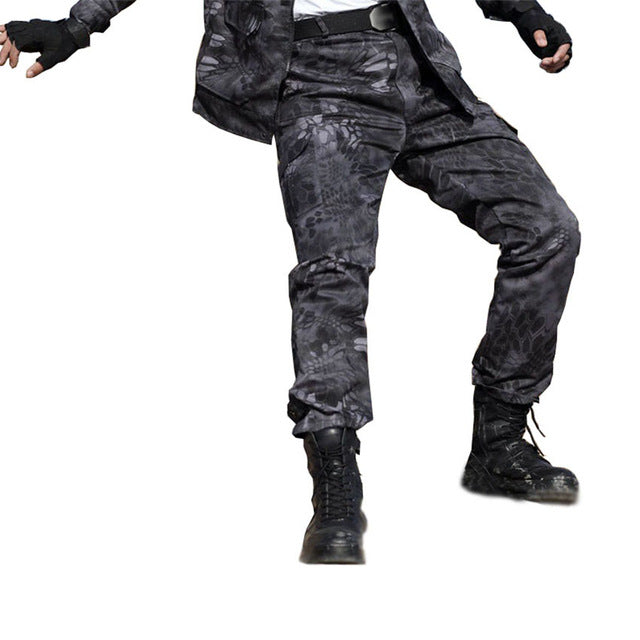 686d25bf8e3bc Military Black Python Combat Army Cargo Pants High Quality Working Har –  Costbuys