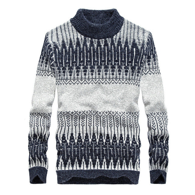 Hot Fashion Autumn Winter Knitted Sweater Men Casual Warm Men's Pullover Sweaters