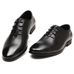 Men Flats Genuine Leather Shoes Men,Lace-Up Business Men Shoes,Men Dress Shoes, Oxfords shoes