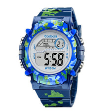 Electronic Sport Student Children Watch Kids Watches Boys Girls Clock Child LED Digital Wristwatch for Boy Girl
