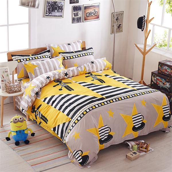 Costbuys  Pink king queen Single size - bed linen bedding sets bedclothes duvet cover bed sheet pillowcases - as picture 5 / Sup