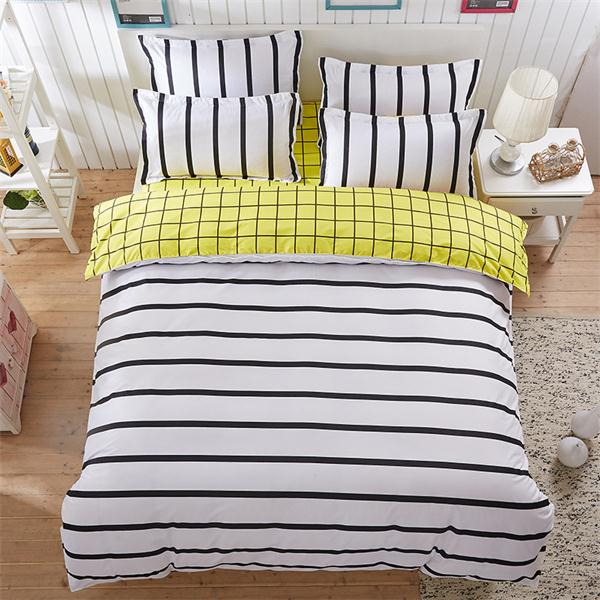 Costbuys  Pink king queen Single size - bed linen bedding sets bedclothes duvet cover bed sheet pillowcases - as picture 4 / Sup