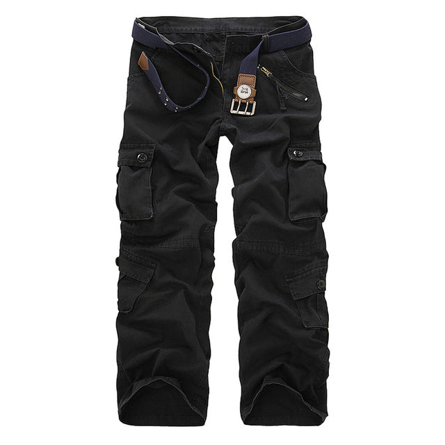 0c95f5125c8 Hot Spring Autumn Cargo Pants Men Casual Mens Tactical Pants Pantalon Homme