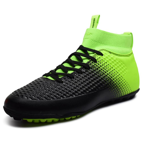 ba9b5ad64 High Ankle TF turf Indoor soccer boots MAN SHOES SPORTS FOOTBALL boot  futzalki football sneakers