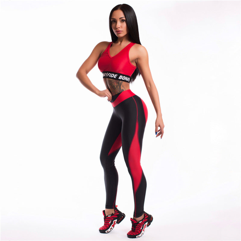 New Autumn Women Sporting Pants Sexy Slimming Workout Fitness Leggings Women Heart Shaped Patchwork Leggings Breathable Leggins