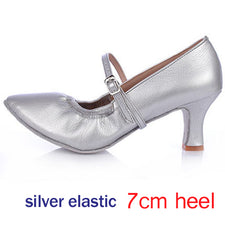Dancing Shoes for Women Girl Ballroom Latin Tango Dance Shoes Heels Shoes Modern Dancing Shoes