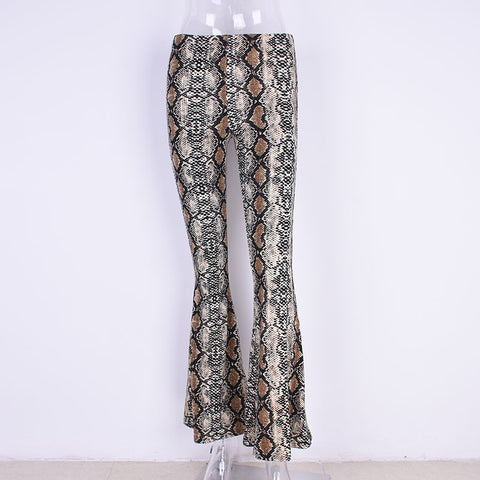 Woman Wide Leg Pants Fashion serpentine Pants Loose Casual Trousers For Women Wide Legs Pants