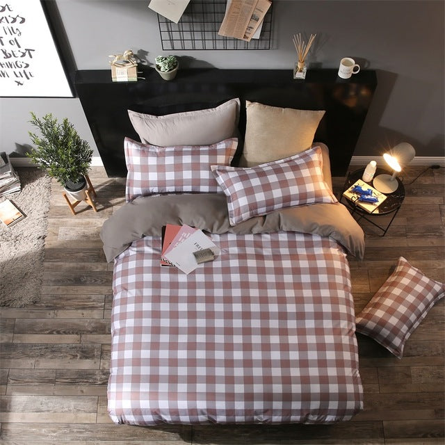 Costbuys  New Style Bedding Sets Bed Sheet Pillowcase & Duvet Cover Sets Bed Sheet,king Queen Full Twin Size - A5 / Queen cover