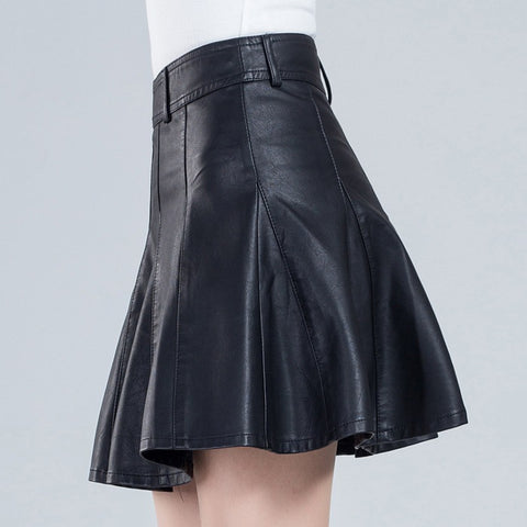 Women's Skirt Fashion Eyes Printed Elastic Hight Waist Pleated Skater Skirt Ball Gown Mini Skirts