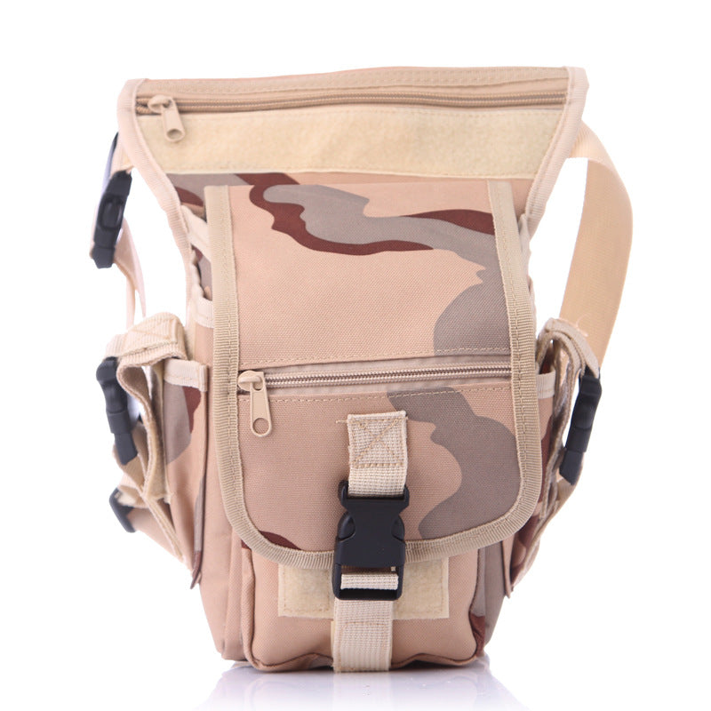 Costbuys  Outdoor Waterproof Waist Leg Bag Thigh MOLLE System Fanny Pack Belt Messenger Military Drop Travel Hiking Camping Army