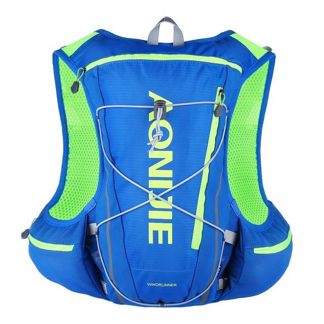 Costbuys  13L Women Men Marathon Vest Hydration Pack for Water Bag Racing Cycling Hiking Bag Outdoor Sport Running Backpack - bl