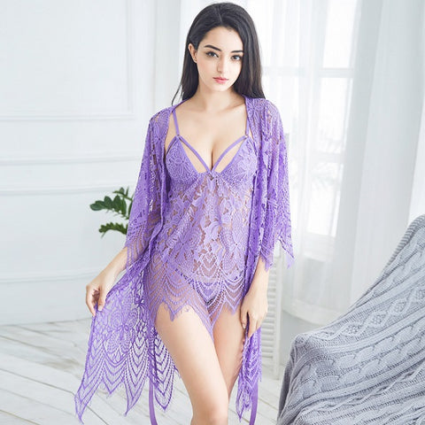 Lace Hollow Out Back Luxury Imitation Satin Women Short Pajama Set Sexy Lace Pajamas Suit Silk Thin Hot Women Night Wear Clothes