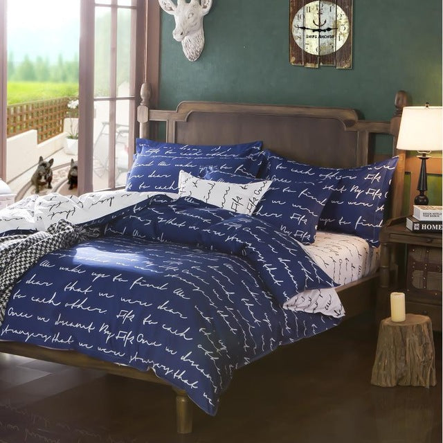 Costbuys  New fashion Promotion !!! Bedding bed linen 3/4pcs Bedding Set duvet set bed set bed linen - 2 / FULL / SHEET