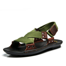 Summer Sandals Beach Shoes Men's Sandals Leather Sandals For Men