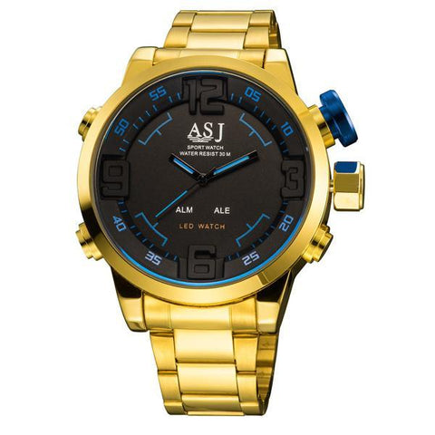 Women's Men's Digital Luxury Wrist Watch Sports Slim Watch Watch Date Sports Bracelet