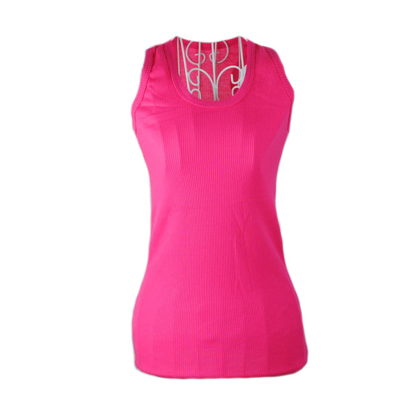 Costbuys  New Ladies Multicolor Sleeveless Bodycon Temperament Cotton Tank Top Women Vest Tops - Rose / One Size
