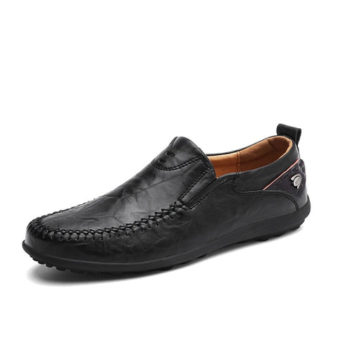 Alligator Grain Casual Men Shoes Genuine Leather Luxury Brand Slip-on Mens Loafers Flats for Driving Party Lazy Shoes Dress