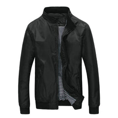 Spring Autumn Bomber Jacket Men Casual Lightweight Men Jacket Coat