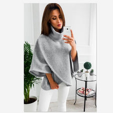 Autumn full turtleneck Sweater fasion  flare sleeve the new Keep warm Sweater pullovers streetwear Sweater