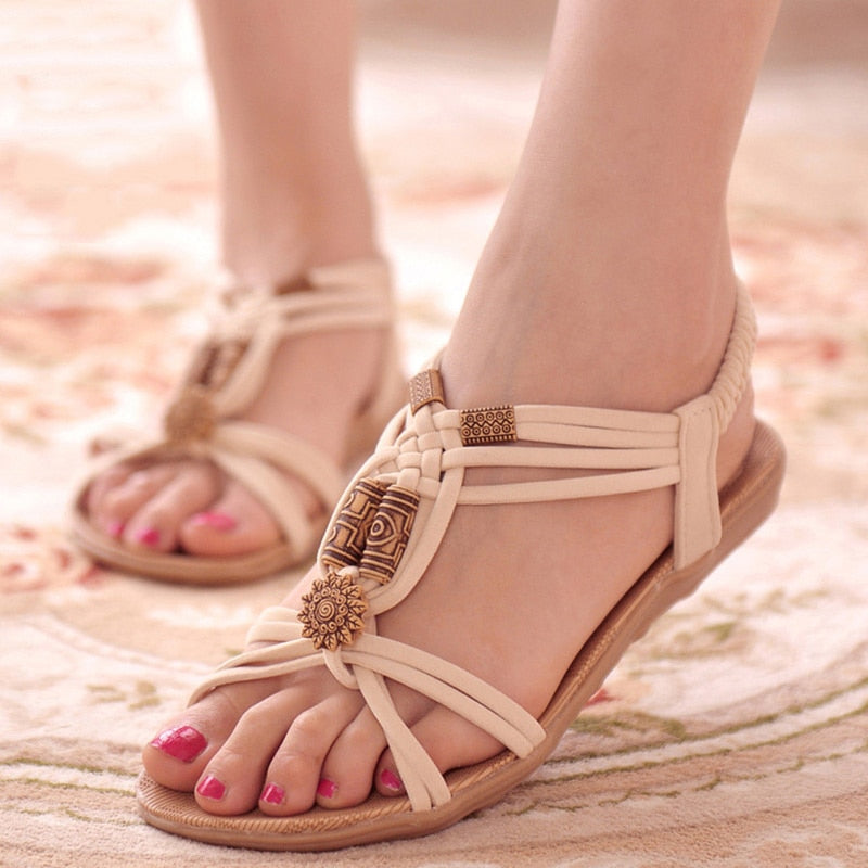 Shoes Women Sandals Summer Gladiator Bohemia Sandals Ladies Summer Beach Shoes Female Sandals