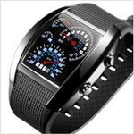 Digital LED Backlight Military Wrist Watch Wristwatch Sports Meter Dial Watches For Men Black BS88