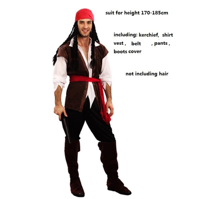 Costbuys  Sexy pirate costume men adult male woman female halloween costumes for women sexy plus size sexy fancy dress costumes