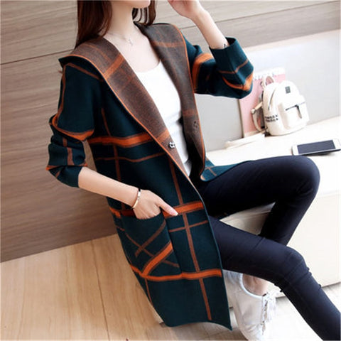 New Autumn 11 Colors Women Knitted Cardigans Thin Waist Ladies Knitwear Outwear Jumper Female Air-conditioned Shirt