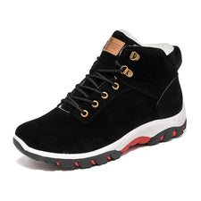 Winter Shoes Men Plush Warm Winter Boots Men Anti skidding Men Boots