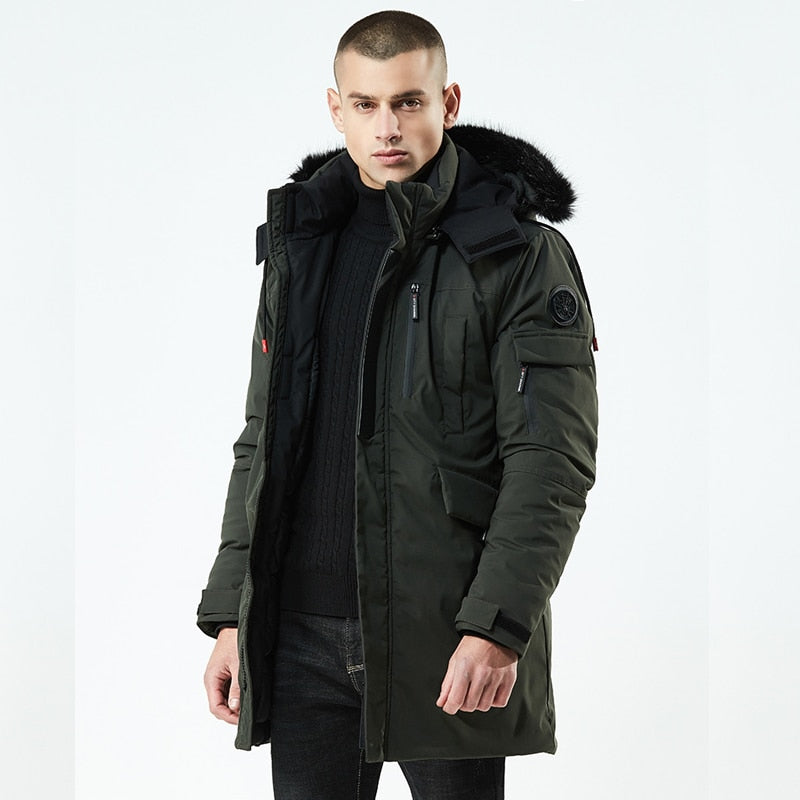 Winter Parkas Men Jacket Coats Men Warm Coat Casual Parka Thickening Coat Men For Winter