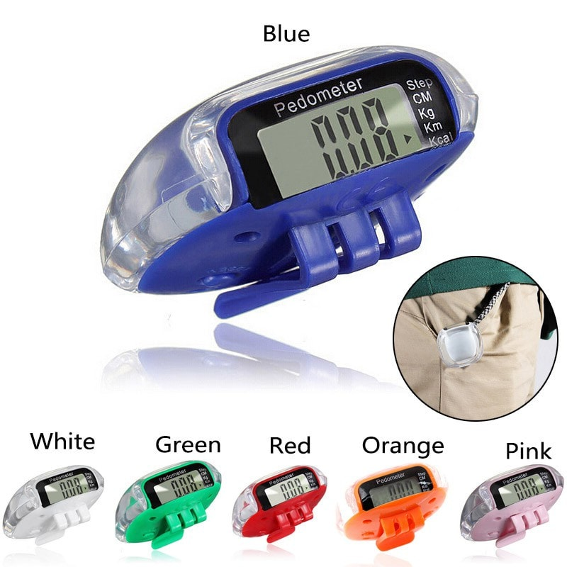 High Quality LCD Multifunction Pedometers Walking Step Counter Calorie Calculation Count Health Monitoring H5044 P12 0.5