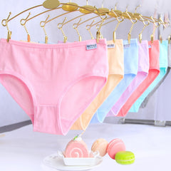 1 PCS Sexy Ladies Girls Panties Cotton Lingerie Women Underwear Eeryday Sexy Briefs Intimates Knickers for Women Girl
