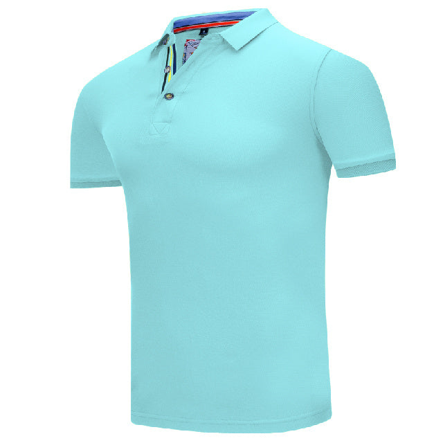 Costbuys  Quick-drying golf shirts for men/women Breathable Sport Golf Polo Shirt Training Garment Sportswear Men Polo Shirt - l
