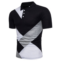 Men Summer Fashion Camisa Polo Shirts Short Sleeve Mens Polo Shirt Brands Breathable Tee Tops