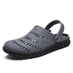 Men Sandals Summer Men Beach Hollow Breathable Sandals Casual Shoes Male Water Slippers
