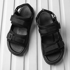 Summer Men Casual Shoe Roman Man Sandals Beach Gladiator Men's Outdoor Shoes Flip Flops Fashion Slippers Flat