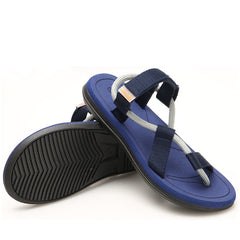 Men Beach Sandals New Summer Men Black Sandals Summer Flat Shoes Sandalias