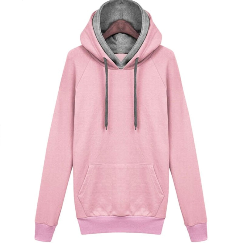 Women Autumn Winter Sweatshirt Casual Double Hoodies Long Sleeve Female Pullover Loose Tops Sweatshirts Women's Clothings New