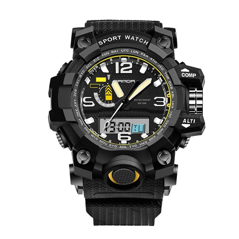 Super! Fashion G Casual Luxury Brand Men Military Sport Watches Led digital Analog quartz watch shock proof clock men