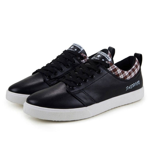 Autumn Non-leather Casual Shoes Canvas Rubber Men Shoes Breathable Gumshoe Designer Male Footwear Denim Plimsolls