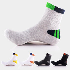 quality cotton professional comfortable elasticity breathable trekking riding bicycle men short socks