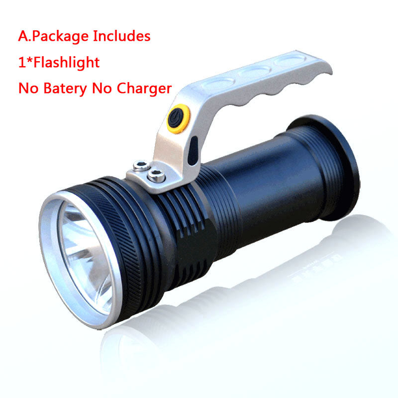 Costbuys  Waterproof Rechargeable led flashlight 3800LM XPE Q5 hand lamp Torch Portable light Lantern Use 2*18650 Battery car AC