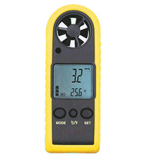 HT-383 Portable Digital Anemometer Handheld LCD Electronic Wind Speed Air Volume Measuring Meter Backlight
