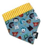 Doggy Friends Bandana Reversible