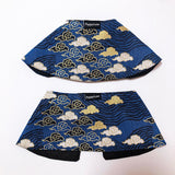Oriental Sky Boy Cape Collar Dark Blue