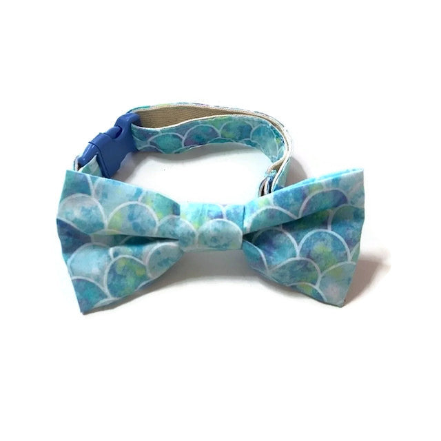Psychedelic Blue Bowtie