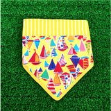 Sailing Boats Bandana Yellow
