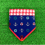 Anchor Bandana Blue