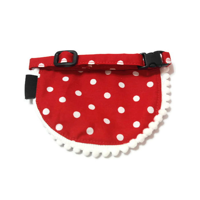 Fortune Dog Bib Red