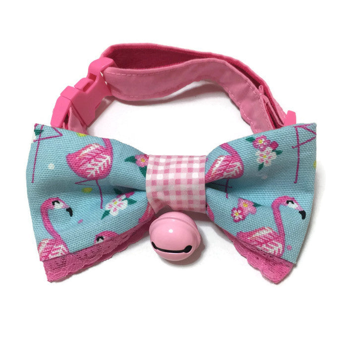 Sweet Flamingo Bowtie